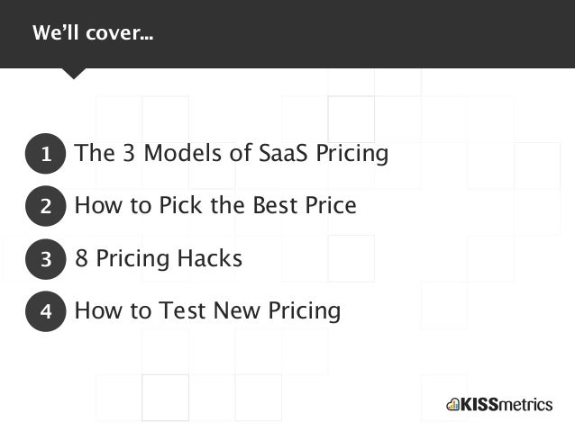 The Secrets to SaaS Pricing Slide 3