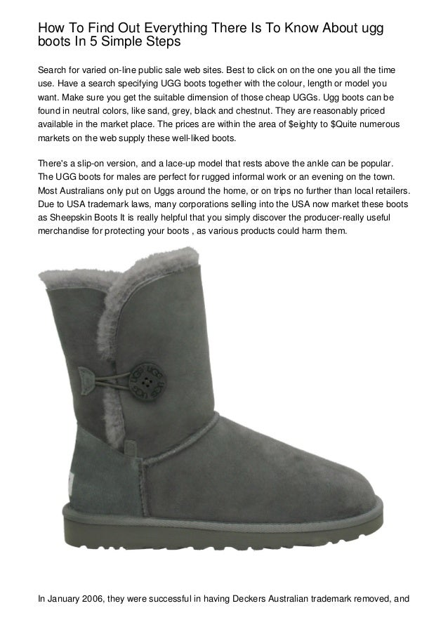 run shoes classic shoes outlet boutique How To Find Out Everything There Is To Know About ugg boots ...