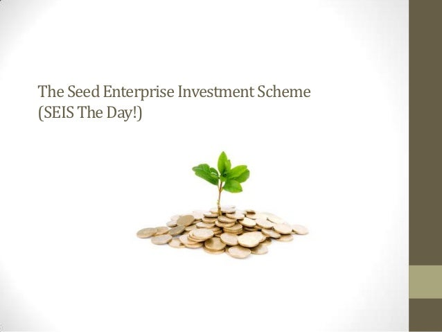 The Seed Enterprise Investment Scheme(SEIS The Day!)