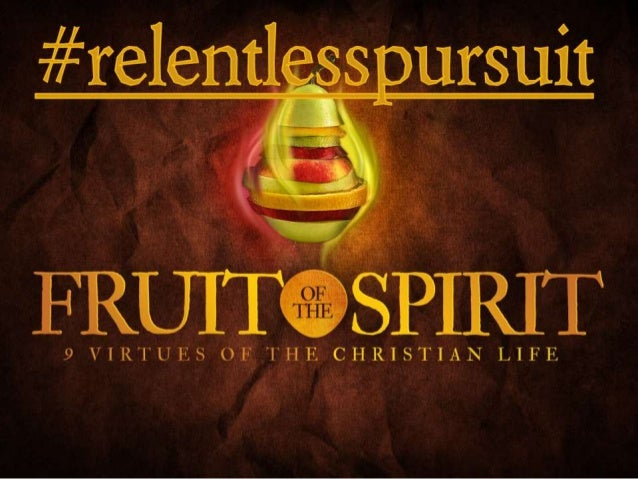 These Fruits Aren't Fruits Sunday May 5, a.m. worship
