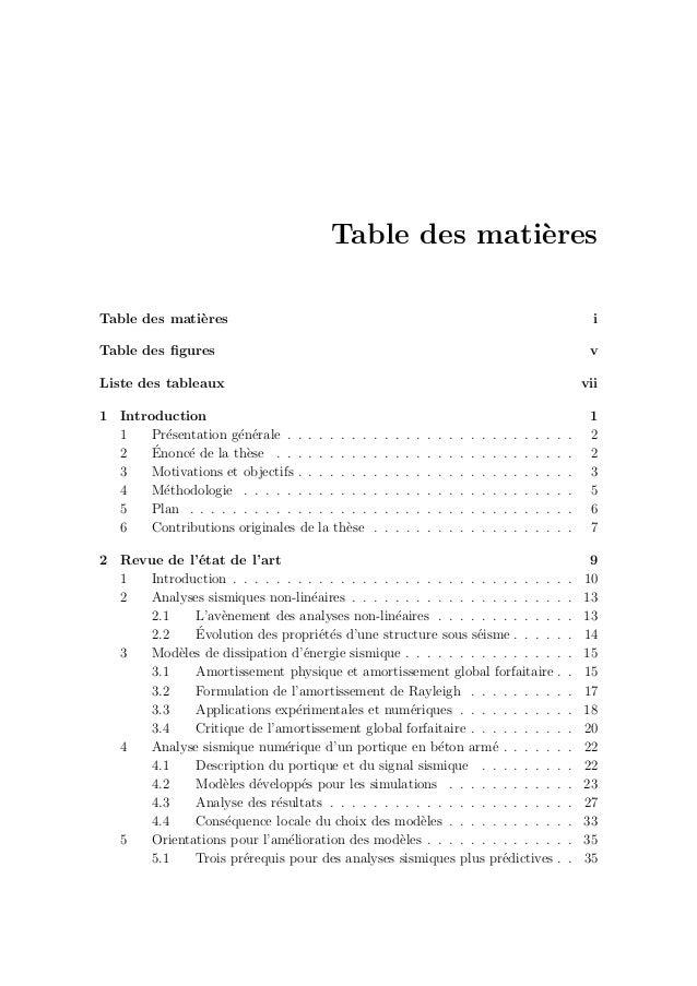 Table des figures 2.1 Mod´elisation multi-´echelle pour la dissipation d'´energie . . . . . . . . 12 2.2 R´eponse sismique ...