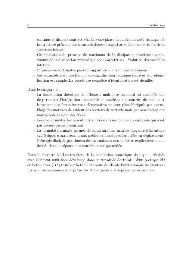 12 Revue de l'´etat de l'art en fonction de la rotation dans des sections fortement sollicit´es. Les param`etres de la r´e...