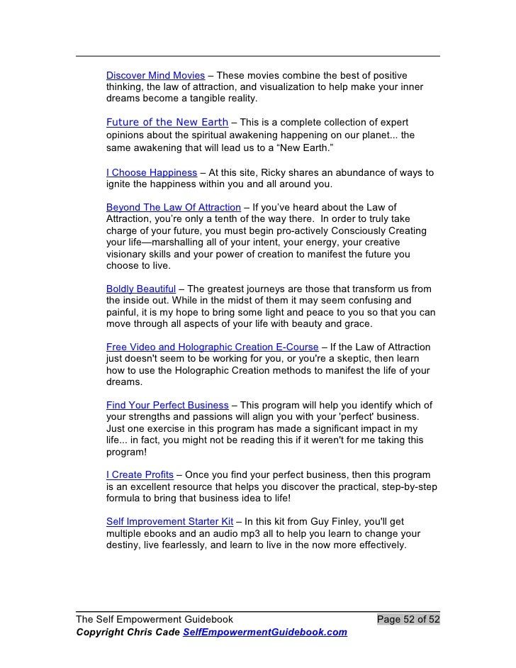 The self empowermentguidebook fandeluxe Choice Image