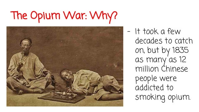 an analysis of the opium war in china in 18th century Like cholera and dysentery1 there were no known misuses of opium in china until the 18th century  analysis of primary  opium war in china,.