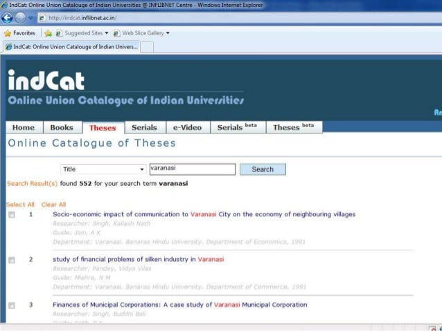 dissertation search  You can also limit to just Dissertations or just Master Thesis below the search box