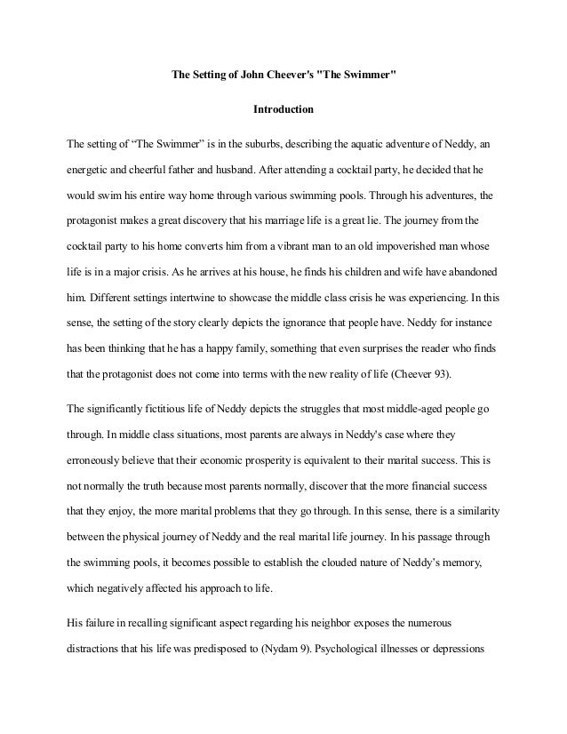 Essay on swimming pool