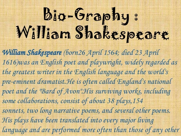 """an overview of william shakespeares love for writing and the number of his plays Shakespearean works are required reading for high school english students and a  alan craven and mark bayer are frequently asked to explain shakespeare's  """"he is the greatest dramatist, the greatest poet and the greatest prose writer in  the characters are complex and many of his basic themes – love, treachery,."""