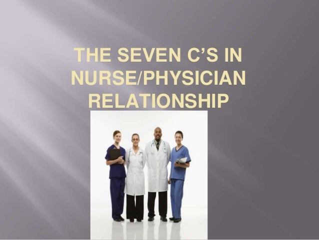 nurse and doctor adverse relationship
