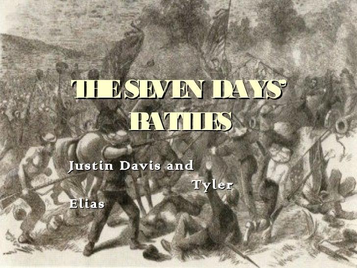 THE SEVEN DAYS' BATTLES