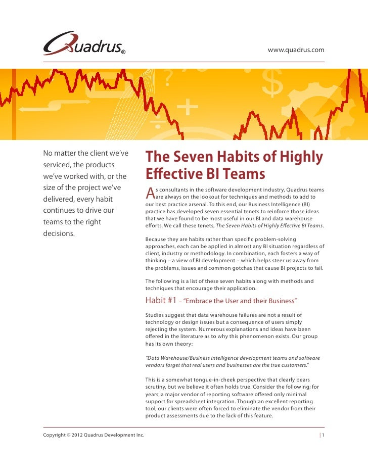 www.quadrus.comNo matter the client we'veserviced, the products                                            The Seven Habit...