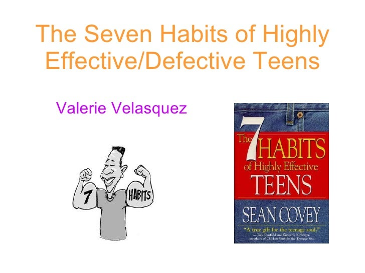 7 habit of highly effective teens
