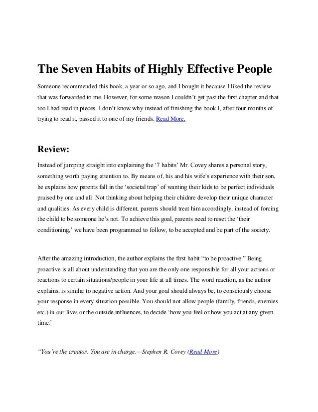 seven habits of successful teams essay Seven habits to make you successful essay the seven habits of successful teams are a guideline that can improve the operation and coordination of groups and teams.