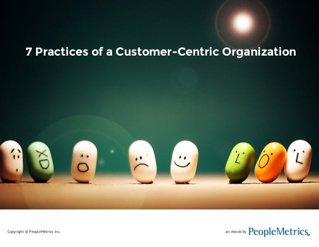 Seven Practices of a Customer-Centric Organization  7 Practices of a Customer-Centric Organization  an ebook by  R  Copyri...