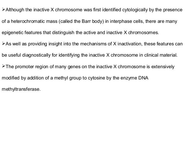 Sex chromosome abnormalities and barr bodies