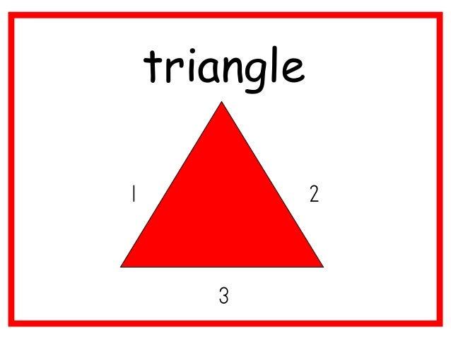 triangle 1  2 3