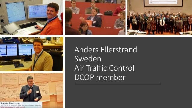 Anders Ellerstrand Sweden Air Traffic Control DCOP member