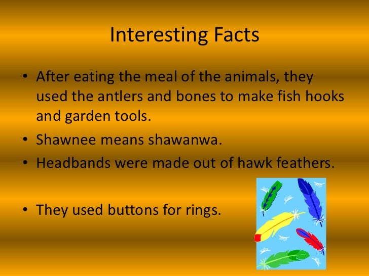 Shawnee Tribe Facts For Kids