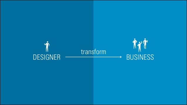 DESIGNER  transform  BUSINESS