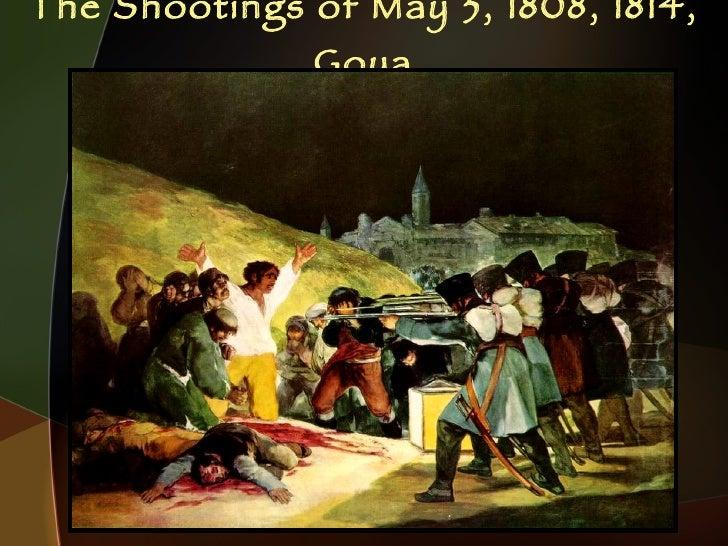 The Shootings of May 3, 1808, 1814, Goya