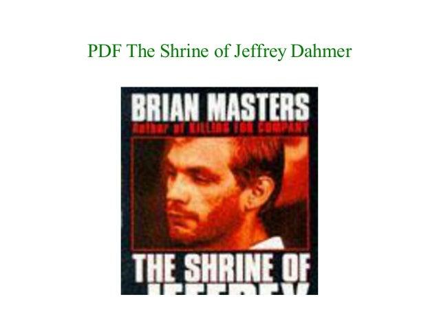 The Shrine Of Jeffrey Dahmer Pdf