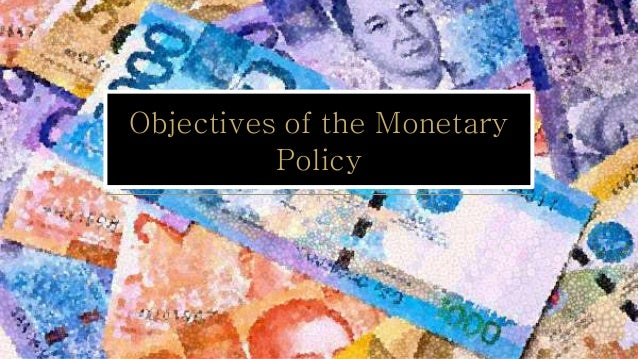 the importance of the monetary policy Video: the importance of timing in fiscal and monetary policy decisions in this lesson, discover four different types of policy lags that occur when fiscal and monetary authorities take action in.