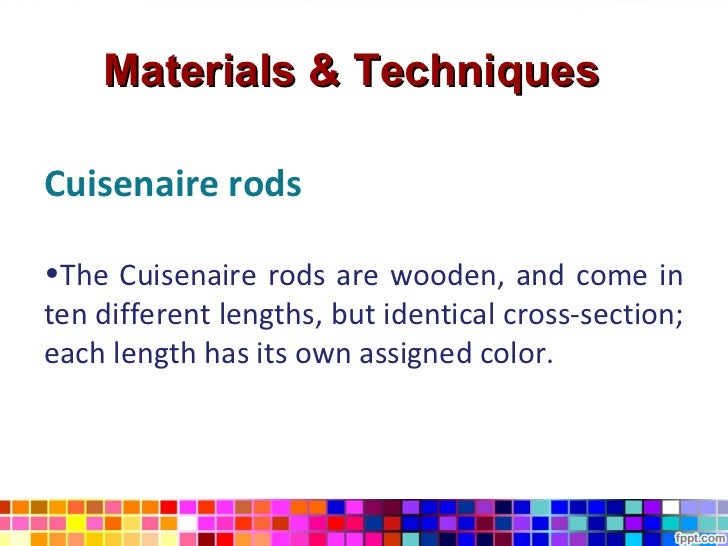 The silent way – Cuisenaire Rods Worksheets