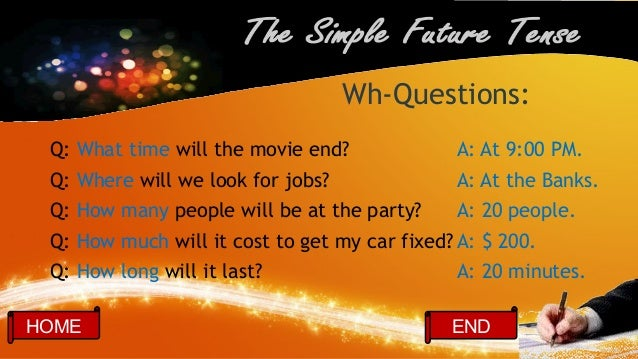 The Simple Future Tense Ppt