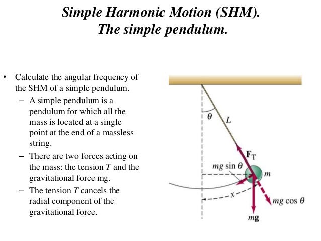 using a simple pendulum to find Phy191 experiment 4: the simple pendulum 10/3/2014 page 2 it is a restoring torque, which for positive (counter-clockwise) angle θis in the direction to make.