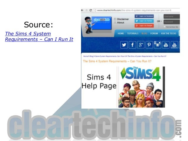 The Sims 4 System Requirements – Can I Run It