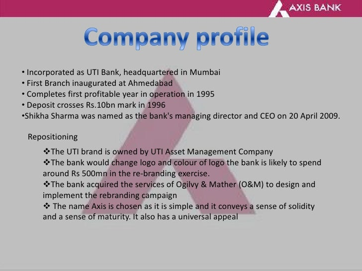 thesis on axis bank