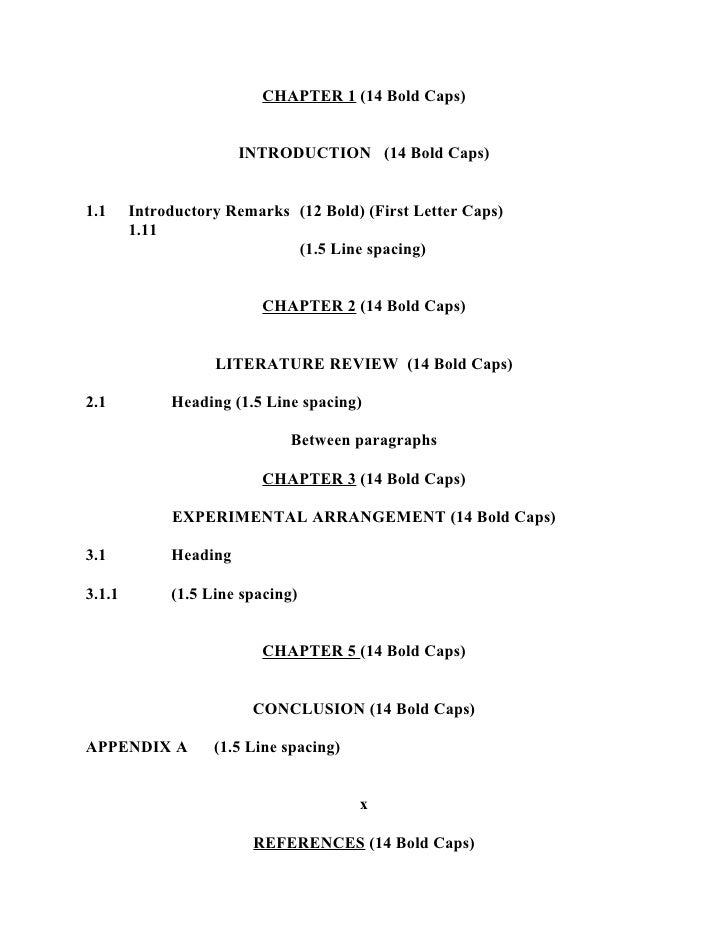 thesis line spacing The title of the thesis or dissertation in all capital letters and the page and place the rest of the text on a second line, single-spacing the two.