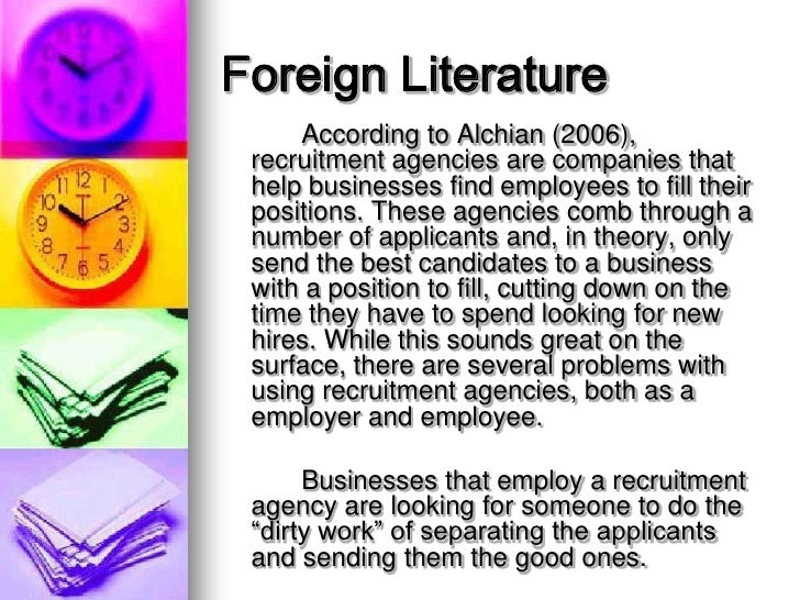 foreign literature definition