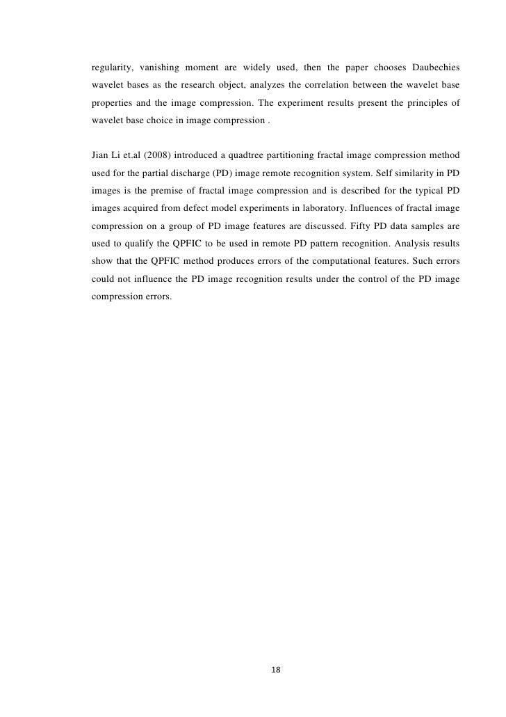 thesis on image compression using dct Matlab implementation of baseline jpeg image compression using hardware optimized discrete cosine transform t vimal prakash singh.