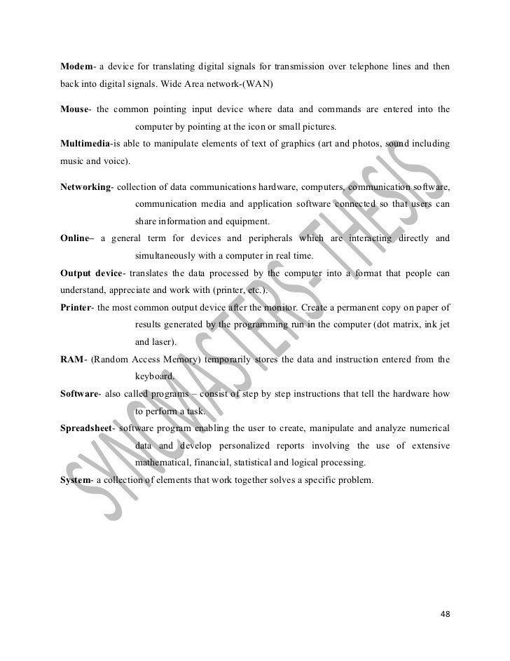 Characteristics of an effective thesis statement