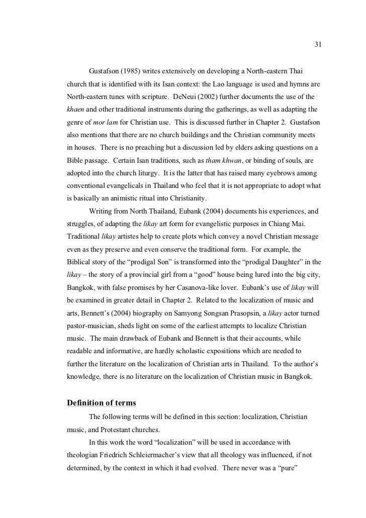 Lyric passage to bangkok lyrics : The Localization of Christianity in Bangkok Protestant Churches: A St…