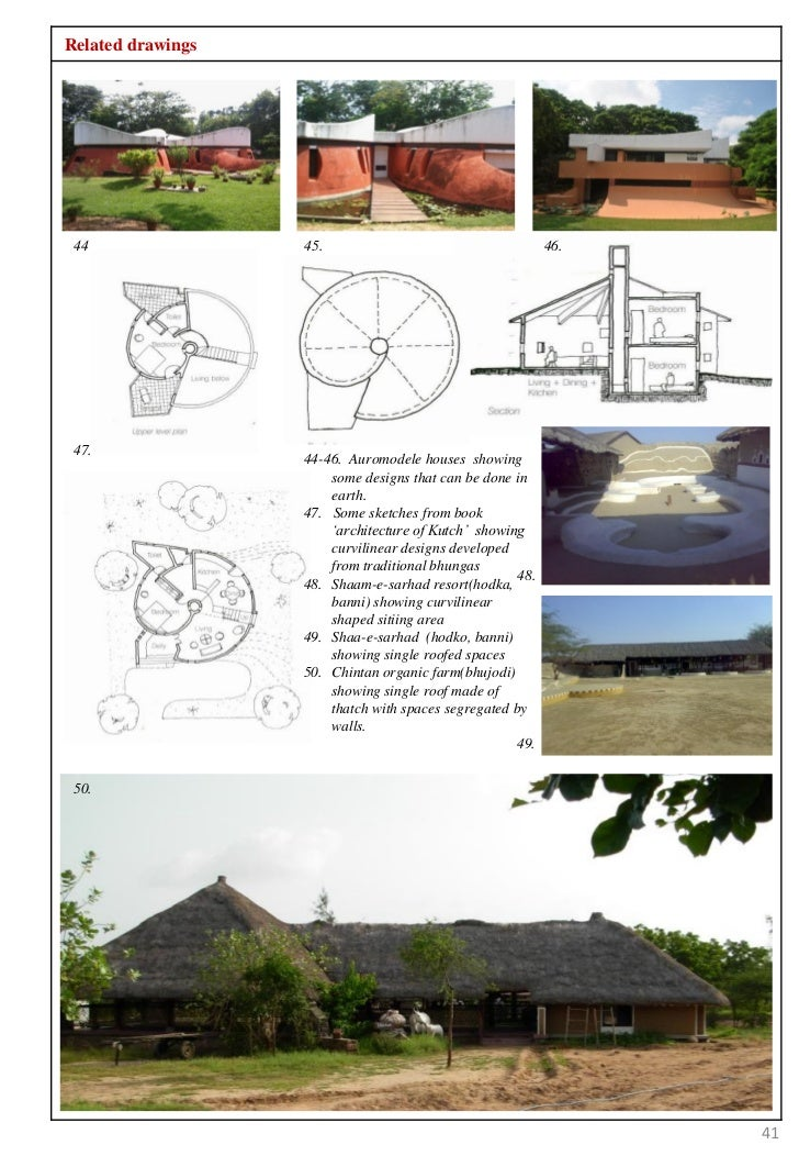 Thesis on earth architecture for Architecture 54