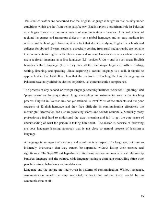 thesis pakistani students