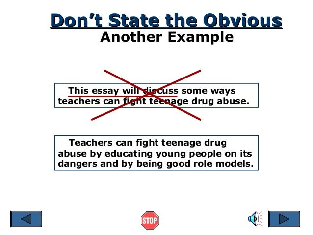 drug addiction opinion essay
