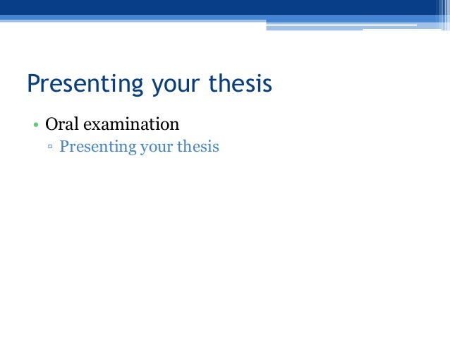 writing your science thesis Last month, we offered suggestions on how to prepare for your thesis defence: decide whether you need more research results, sketch out a plan for those experiments and for writing thesis chapters.