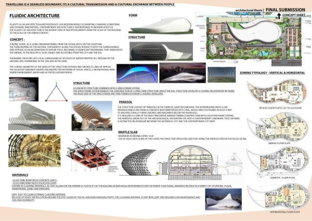 Architectural Thesis - International Cruise Terminal at goa