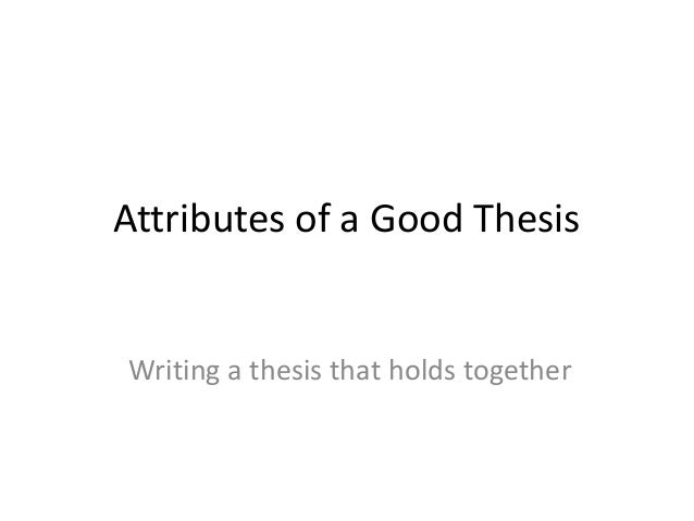 writing an effective thesis statement youtube