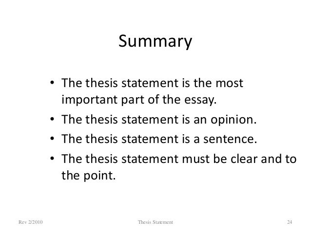 Sample Essay Thesis Statement Rev  Thesis Statement   Examples Of English Essays also Essay On Importance Of English Language Thesis Statement Argumentative Essay Thesis Statement