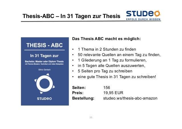 studeo thesis abc