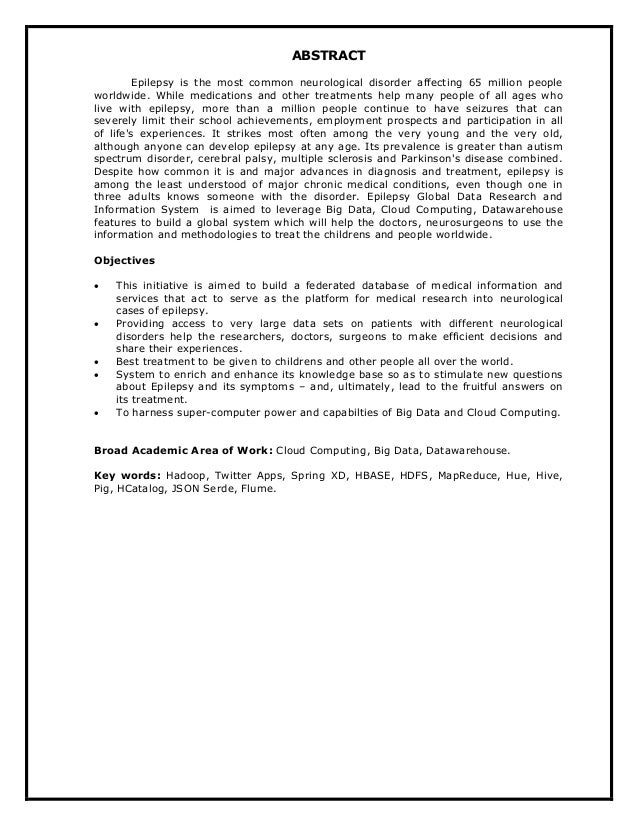 Write the Thesis Abstract