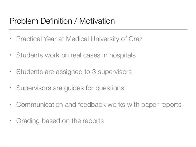 Utilizing New Technologies for the Improvement of Problem Based Learning in Medical Education Slide 3