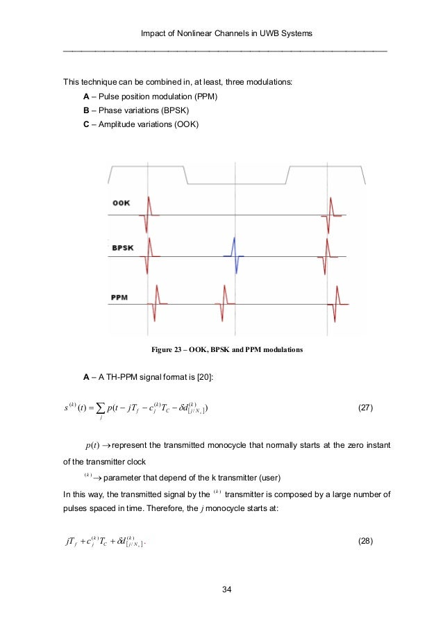 uwb thesis transmitter Chapter 5: simulink model design for tr uwb receiver 531 transmitter model this thesis concentrates on bpsk, ppm and ppv transmitter of uwb system.