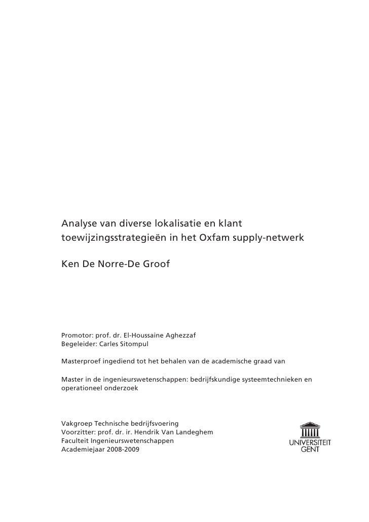 voorwoord master thesis format