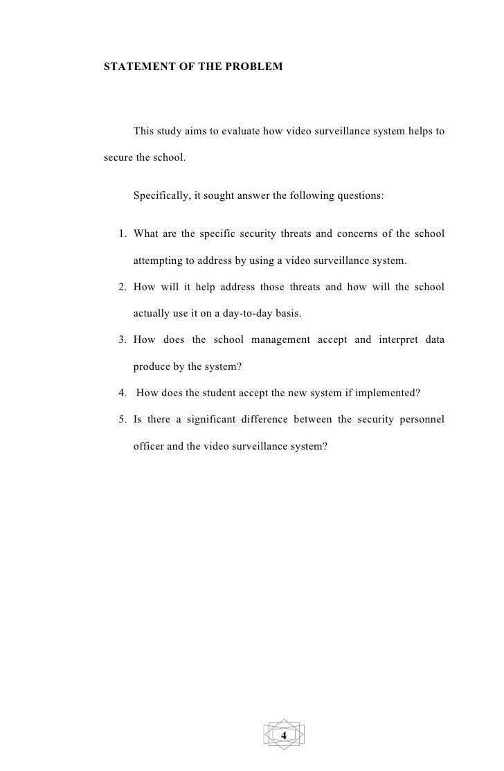 surveillance essay conclusion