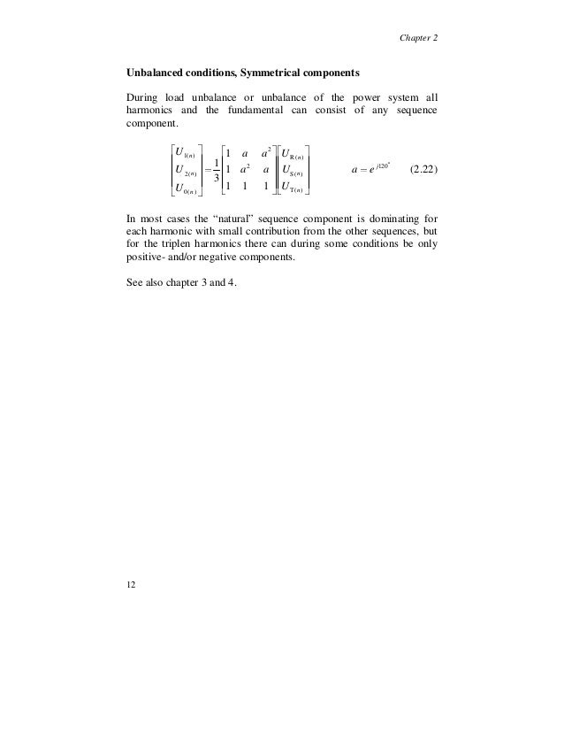 harmonic thesis Low -voltage s ynchronous generator excitation optimization and  thesis submitted in  low -voltage synchronous generator excitation optimization and design.