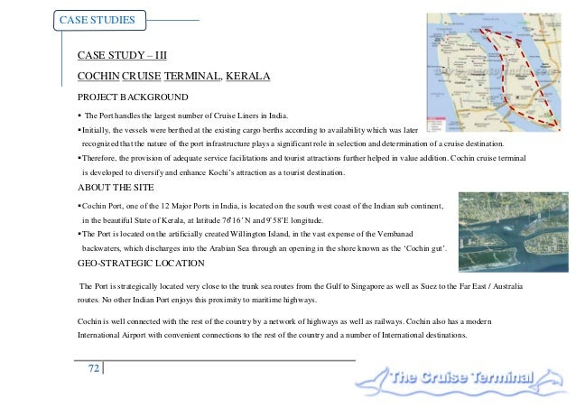 Architectural Thesis Proposal: International Cruise Terminal at Cochin, India